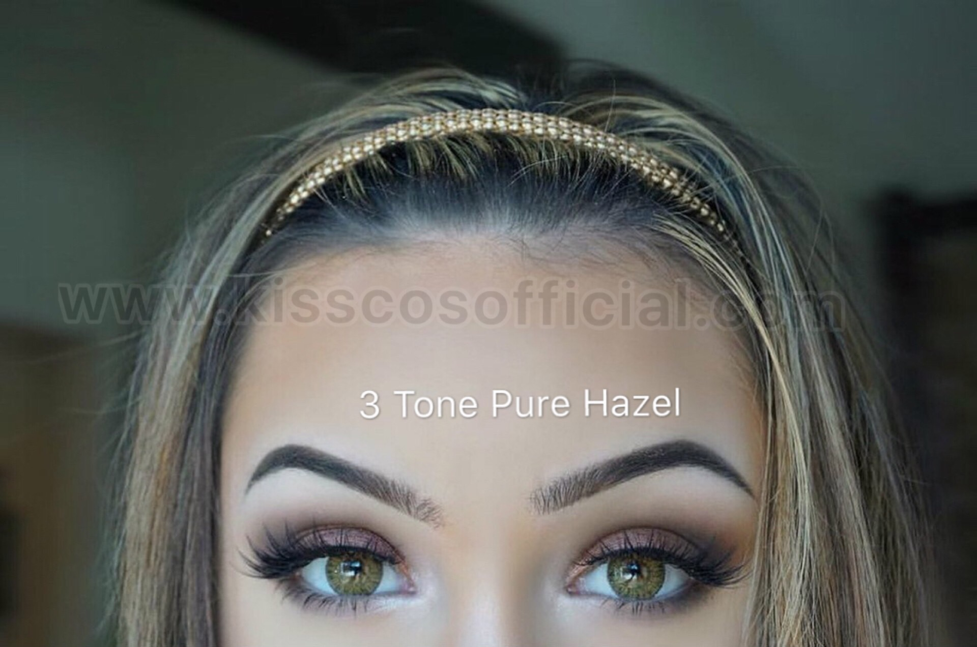 d48d88cf1f 3 Tone Pure Hazel Color Contact Lens – Kiss Cosmetics